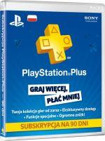 PlayStation Plus: 3-miesięczne członkostwo -