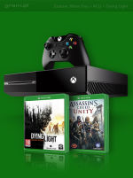 Xbox One + Assassins Creed Unity (Xbox One) + Dying Light (Xbox One)