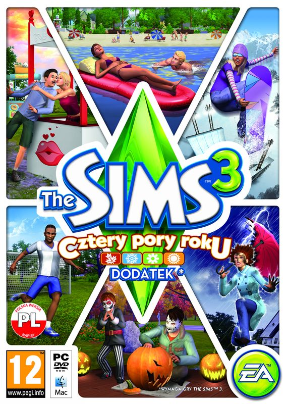 Crack the sims 3 cztery pory roku download