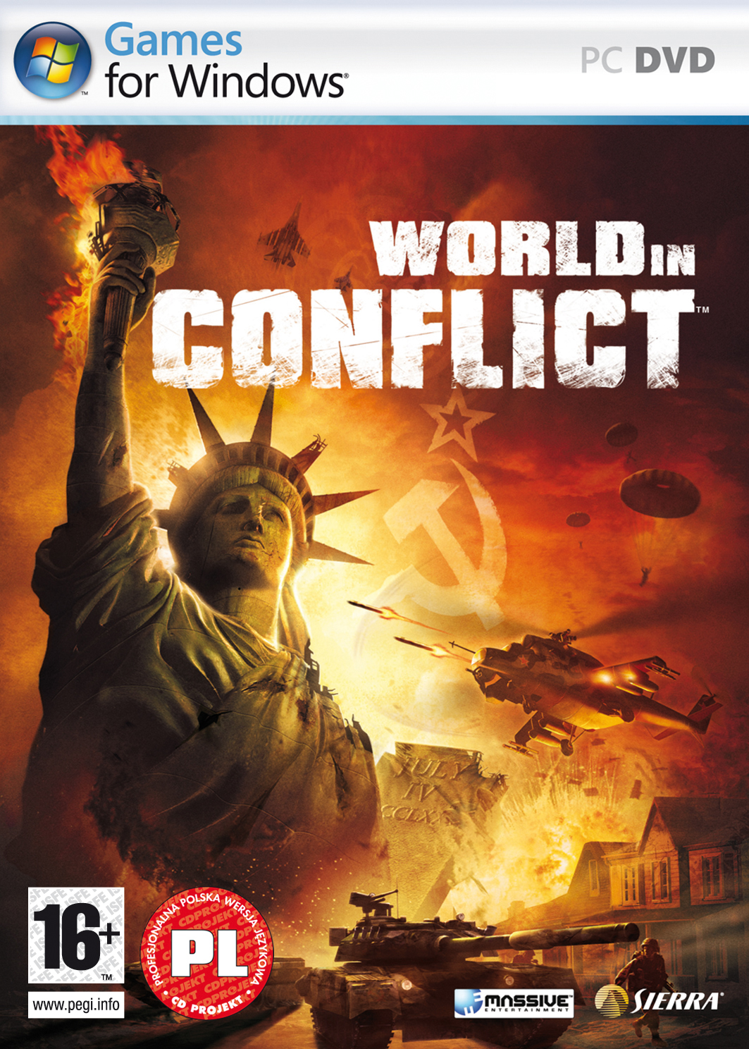Название World in Conflict Год выхода 2007 Жанр RTS / Стратегия