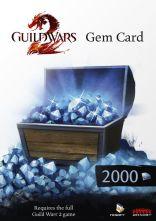 Guild Wars 2 - Gem Card (wersja pudełkowa)