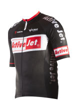 ActiveJet - koszulka kolarska (krótki rękaw) Coolmax - rozmiar L