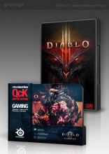 Diablo III + podkładka SteelSeries (Barbarian)