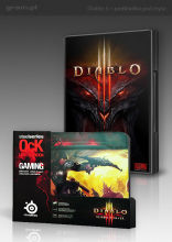 Diablo III + podkładka SteelSeries (Demon Hunter)