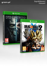 XONE Gra Dishonored 2 + Dragon Ball Xenoverse 2