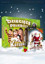 PAK Karaoke Dziecięce Przeboje vol.1 + gratis Karaoke Kolędy vol.1