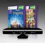 Kinect + Kinect Adventures + Kinect Disneyland