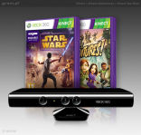 Kinect + Kinect Adventures + Kinect Star Wars