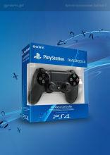 Kontroler bezprzewodowy DualShock 4 (czarny) do PlayStation 4