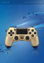Kontroler bezprzewodowy DualShock 4 (złoty)