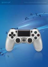 Kontroler bezprzewodowy DualShock 4 (srebrny)