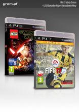PS3 Gra FIFA 17 Deluxe Edition + LEGO Gwiezdne Wojny: Przebudzenie Mocy