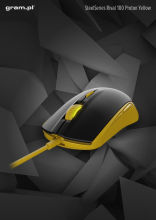 Mysz SteelSeries Rival 100 Proton Yellow