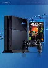 Konsola Playstation 4 + Minecraft