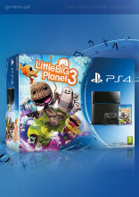 Playstation 4 + Little Big Planet 3