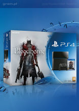 Konsola Playstation 4 + Bloodborne