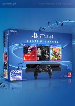 Konsola PlayStation 4 + LittleBigPlanet 3 + DriveClub + The Last of Us