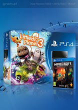 Konsola Playstation4 + Little Big Planet 3 + Minecraft