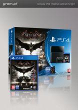 Konsola Playstation 4 + Batman Arkham Knight