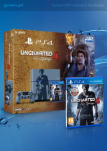 Konsola Playstation 4 1TB Uncharted wersja limitowana
