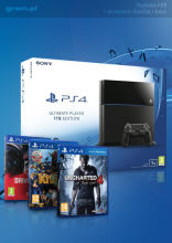 Playstation 4 1TB + Uncharted 4 + DriveClub + Knack