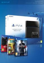 PlayStation 4 1TB + Uncharted 4: Kres Złodzieja + DriveClub + Tearaway
