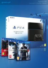 Playstation 4 + Uncharted + DriveClub + Killzone: Shadow Fall