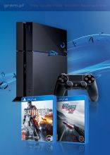 PlayStation 4 + Battlefield 4 + Need for Speed: Rivals