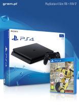 Sony PlayStation 4 Slim 1TB + FIFA 17