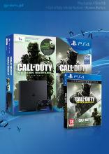 PlayStation 4 Slim 1 TB + 2 gry Call of Duty