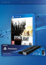 Podstawka do PlayStation 4 + Dying Light