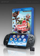 Konsola PS Vita Wifi + Little Big Planet + 4GB