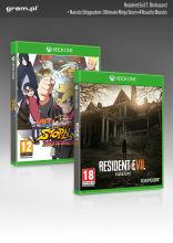 XONE Gra Resident Evil 7: Biohazard + Naruto Shippuden: Ultimate Ninja Storm 4 - Road to Boruto
