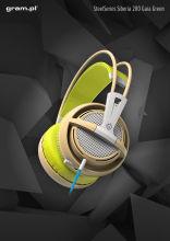 Słuchawki SteelSeries Siberia 200 Gaia Green