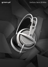 Słuchawki SteelSeries Siberia 200 White