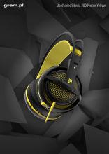 Słuchawki SteelSeries Siberia 200 Proton Yellow