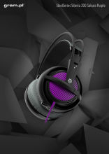 Słuchawki SteelSeries Siberia 200 Sakura Purple