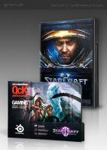 Starcraft II: Wings of Liberty + podkładka SteelSeries