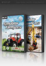 Symulator Farmy 2014 + Symulator Koparki 2011