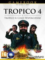 Tropico 4 + Tropico 4: Czasy Współczesne (książka + gra z dodatkiem)