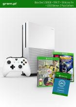 Konsola XBOX ONE S 500GB+ FIFA17+ 1m EA Access+ LEGO Batman 3 Poza Gotham