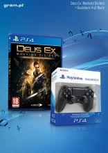 PS4 Gra Deus Ex: Mankind Divided D1 + Sony Dualshock 4 v.2