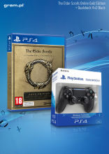 PS4 Gra The Elders Scroll Online Gold Edition + Sony Dualshock 4 v.2