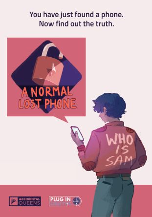 A Normal Lost Phone - wersja cyfrowa