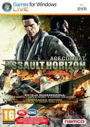 Ace Combat: Assault Horizon - Enhanced Edition - wersja cyfrowa