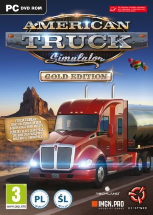 American Truck Simulator - Gold - wersja cyfrowa