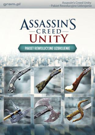 Assassins Creed Unity: Pakiet Rewolucyjne Uzbrojenie - DLC