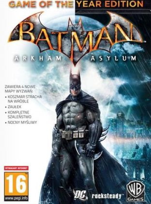 Batman: Arkham Asylum - Game of the Year Edition - wersja cyfrowa