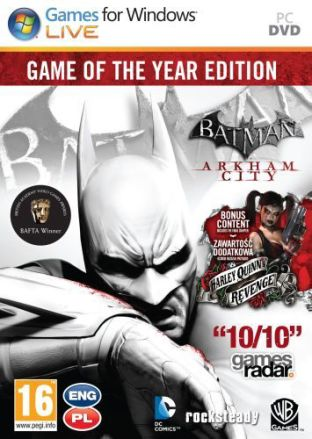 Batman: Arkham City: Game of the Year Edition - wersja cyfrowa