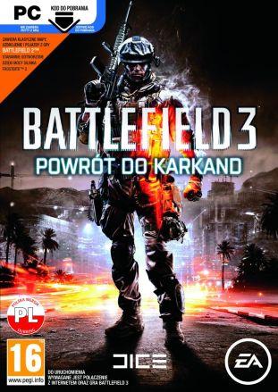 Battlefield 3: Powrót do Karkand - wersja cyfrowa